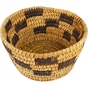 Vintage Pima/Papago - Indian Basket Bowl, Ca. 1920-30's