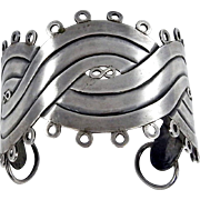 Vintage Sterling Silver bracelet Inspired by William Spratling