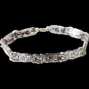 Mexican Sterling Figural Bracelet