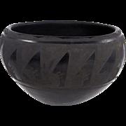 Santa Clara – Maria Padilla Blackware Pot C. 1970-80s