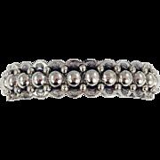 Navajo – Fred Harvey Era/Bell Trading Post Sterling Silver Bracelet – c. 1930-40s