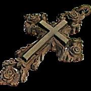 Very Neat Gutta Percha Memorial Cross