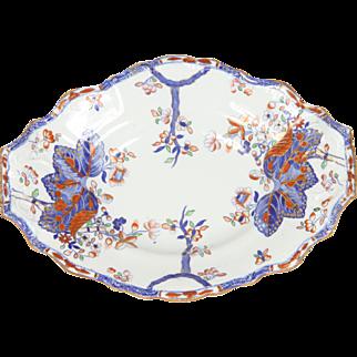A nineteenth Century centre dish