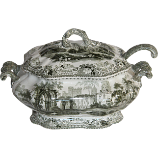 A nineteenth Century china tureen