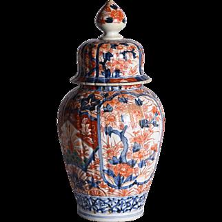 A nineteenth Century Imari covered jar