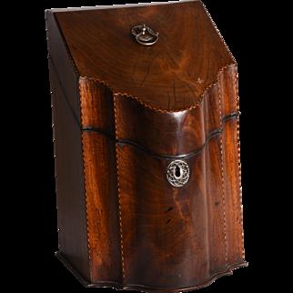 A George III knife box