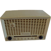 Repaired/Refurbished 1951 Emerson Tube Radio Model 653