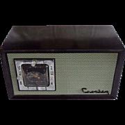Repaired/Refurbished 1953 Crosley Tube Radio/Clock Model E-75 GN.