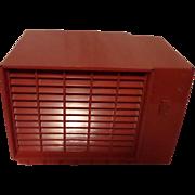 Repaired/Refurbished 1954 Crosley Tube Radio Model F5 RD (Red)