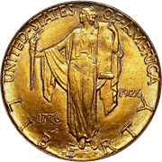 1926 Pcgs MS63 $2.50 Sesquicentennial Gold