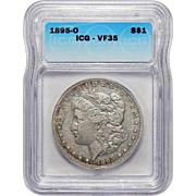 1895-O Icg VF35 Morgan Dollar