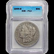 1895-S Icg F12 Morgan Dollar