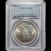 1883-O Pcgs MS62 Morgan Dollar