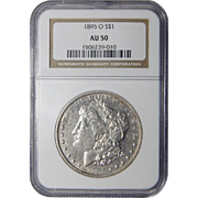 1895-O Ngc AU50 Morgan Dollar