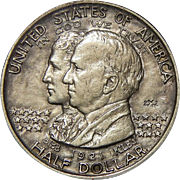 1921 Pcgs AU50 Alabama 2X2 Half Dollar
