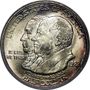1923-S Pcgs MS63 Monroe Half Dollar