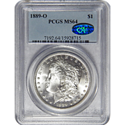 1889-O Pcgs/Cac MS64 Morgan Dollar
