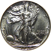 1940 Ngc PF67 Walking Liberty Half Dollar