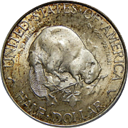 1936 Pcgs/Cac MS66 Albany Half Dollar