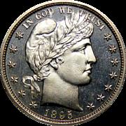 1895 Ngc PF66CAM Barber Half Dollar