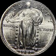 1921 Ngc MS65 Standing Liberty Quarter