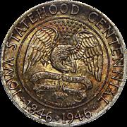 1946 Pcgs MS66 Iowa Half Dollar
