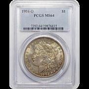 1904-O Pcgs MS64 Morgan Dollar