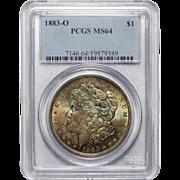 1883-O Pcgs MS64 Morgan Dollar