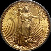 1925-S Pcgs MS62 $20 St. Gaudens Gold