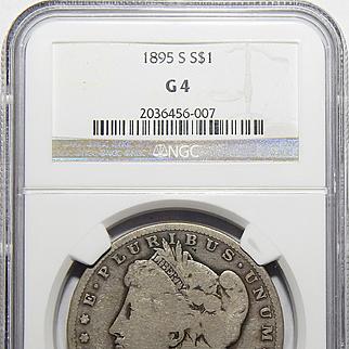 1895-S Ngc G4 Morgan Dollar