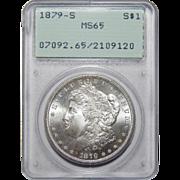 1879-S Pcgs MS65 Morgan Dollar