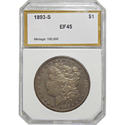 1893-S Pci XF45 Morgan Dollar