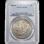 1902-S Pcgs AU55 Morgan Dollar