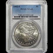 1902-S Pcgs MS65 Morgan Dollar