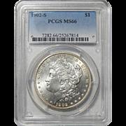 1902-S Pcgs MS66 Morgan Dollar
