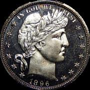 1896 Pcgs PR65CAM Barber Half Dollar