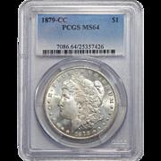 1879-CC Pcgs MS64 Morgan Dollar