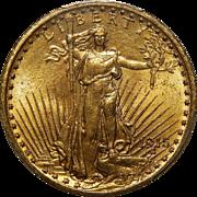 1915 Pcgs MS64 $20 St. Gaudens Gold