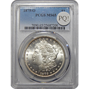 1879-O Pcgs MS65 PQ! Morgan Dollar