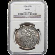 1894-O Ngc AU50 Morgan Dollar