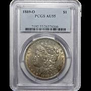 1889-O Pcgs AU55 Morgan Dollar