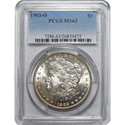 1903-O Pcgs MS63 Morgan Dollar