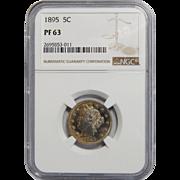 1895 Ngc PF63 Liberty Nickel
