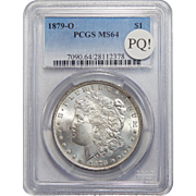 1879-O Pcgs MS64 PQ! Morgan Dollar