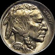 1934-D Anacs MS65 Buffalo Nickel