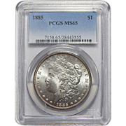 1885 Pcgs MS65 Morgan Dollar