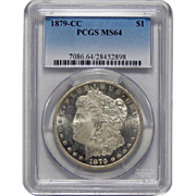 1879-CC Pcgs MS64 Morgan Dollar