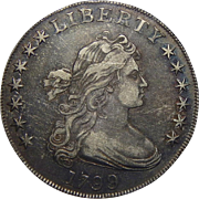 1799 Pcgs XF40 Draped Bust Dollar