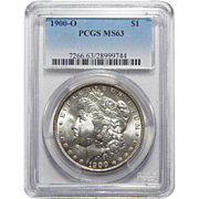 1900-O Pcgs MS63 Morgan Dollar