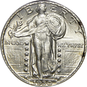1930 Ngc MS63FH Standing Liberty Quarter